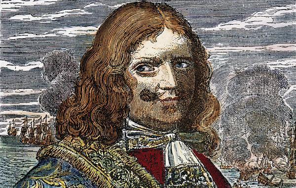 Captain Morgan Portrait