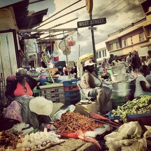 outdoor coronation market jamaica