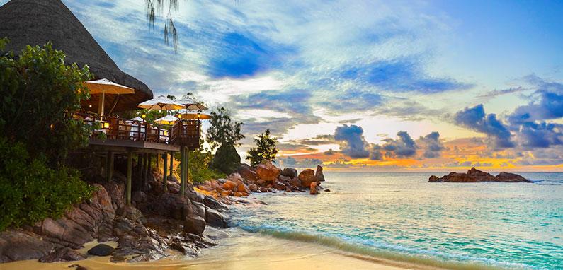Dine in Luxury overlooking the Ocean.