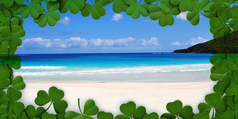 The best place to celebrate St. Patrick's Day is in the Caribbean