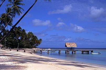Beach at Pigeon Point Tobago
